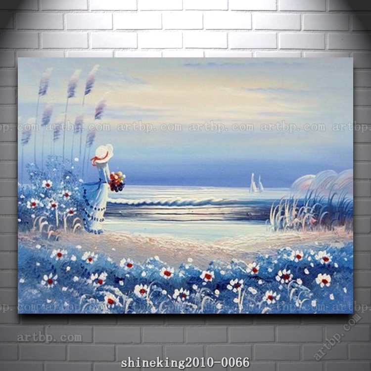Handpainted Landscape Oil Painting Impressionist Art Canvas - Abstract art canvas painting ideas