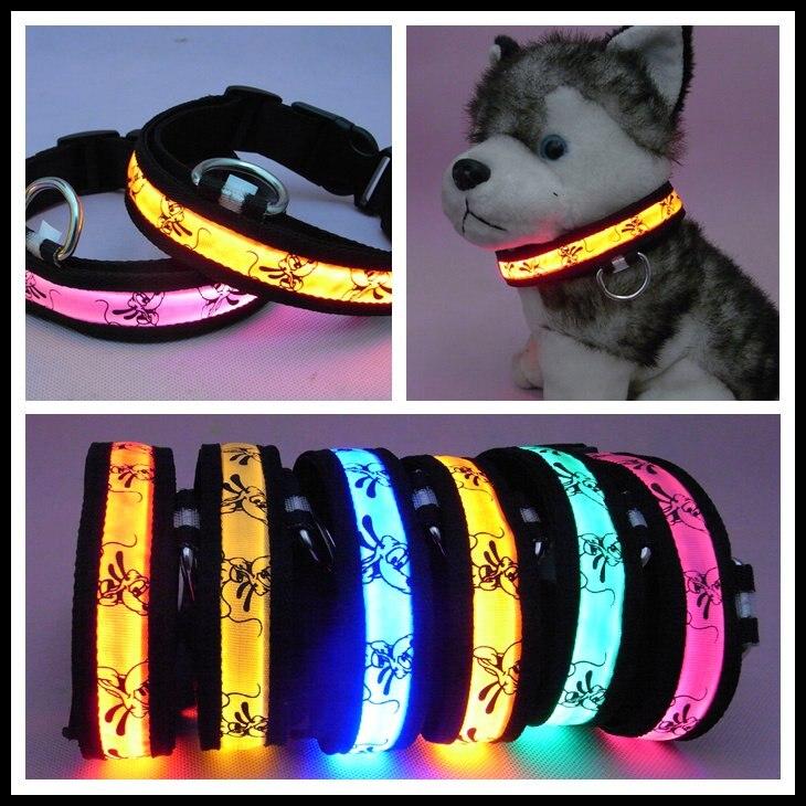 NEW ARRIVAL+PROMOTION Free shipping 50pcs/lot Fashion LED Dog ...