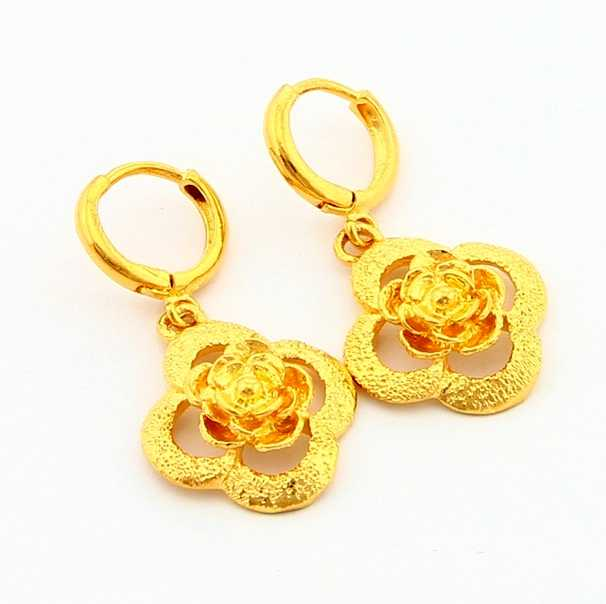 24k Gold Earrings With Price