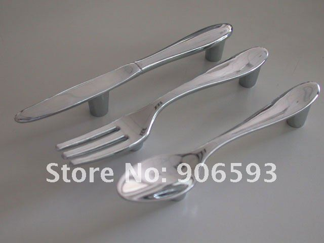 Charmant 15pcs Lot Creative Knife Fork Spoon Kitchen Cupboard Handles\cabinet Handles\drawer  Handles\