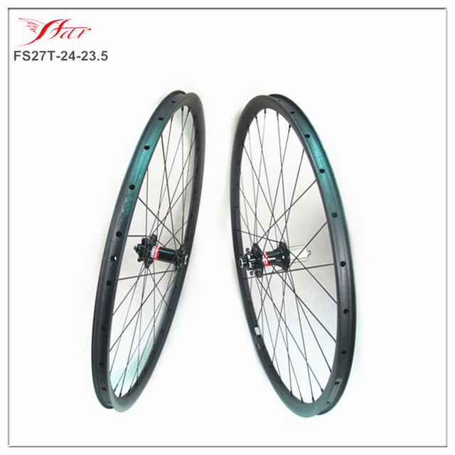 0a99dd17add Chinese 27.5er carbon mountain wheels 24mm wide