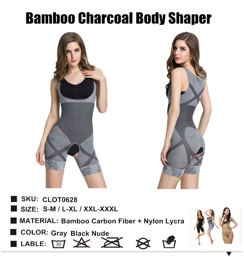 1794a8724c476 Aliexpress.com   Buy Invisible Woman Body Shaper Natural Bamboo Charcoal  Magic Shapers Slimming Underwear Women Fat Burning Slim Pants from Reliable  shaper ...