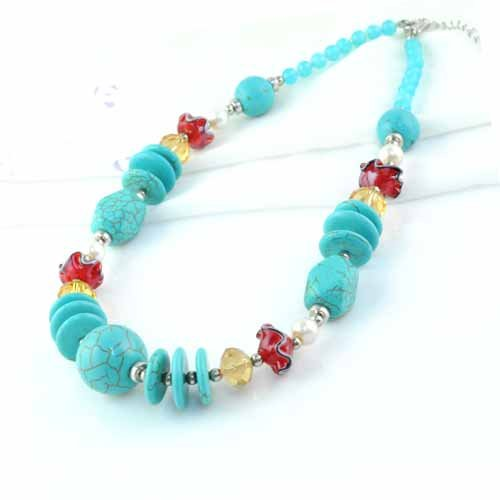 designs long blue stone maher necklace inspiration semi precious coloured michele