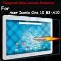 Ultra fina hd limpar 0.26mm 2.5d premium vidro temperado película protetora protetor de tela para acer iconia one 10 b3-a10