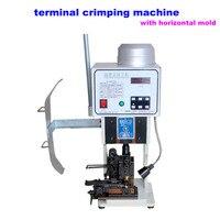 Vollautomatischen terminal crimper LY 1,5 T mit horizontale form draht crimpmaschine