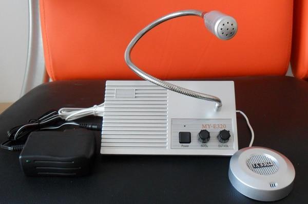5pcs/lot New Dual-way Bank/Office/Store/Station Window Counter Intercom Interphone System