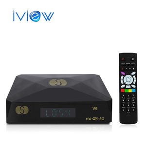 Free Shipping S-V6 Mini HD Satellite Receiver V6 S Support CCCAMD Newcamd WEB TV USB Wifi 3G Biss Key Youporn DVB Box S-V6