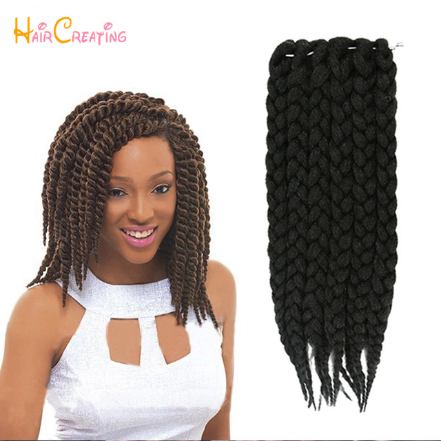 Crochet Box Braids 12 Inch : 12-Box-Braids-Hair-75g-pack-3S-Freetress-Crochet-Box-Braid-Synthetic ...