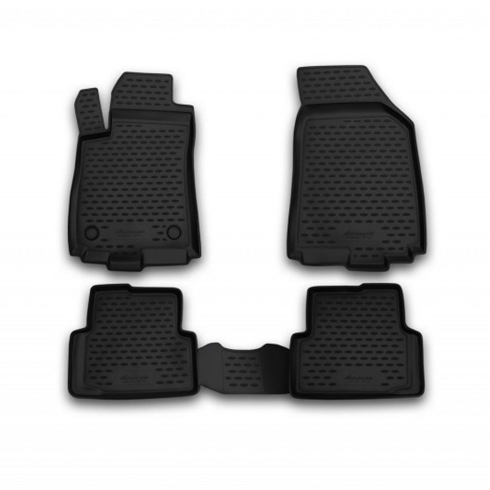 лучшая цена Floor mats for Citroen C4 II 2011 2012 2013 2014 2015 2016 Element CARCRN10035h Russia Stock