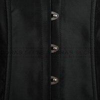 черного тела бюстье стали стоить под грудью корсет талии cincher и бесплатная доставка