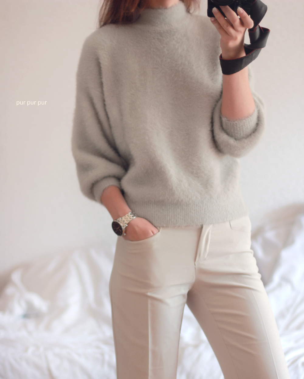 Женский мохеровый свитер с Алиэкспресс