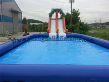 low cost and good price large inflatable pool inflatable swimming pool