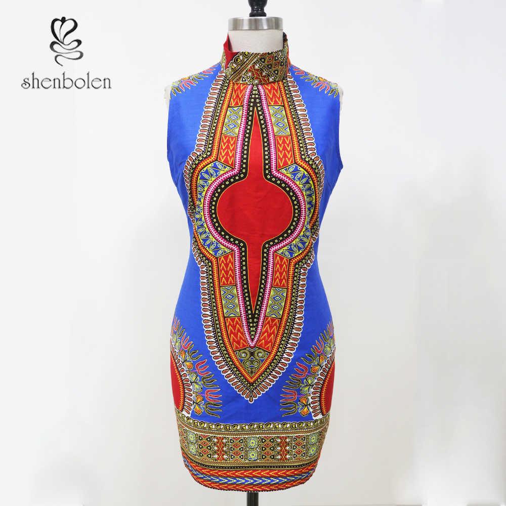 6c5d97e2304 ... 2018 New Summer dresses traditional Ladies dress africa clothing  fashion designs African Print Dashiki dress for