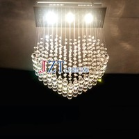 M Best Price Romantic Heart Shaped Crystal Lamps Bedroom Modern Factory Outlets Led Ceiling Lights Living