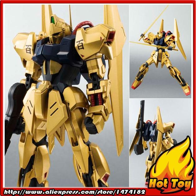"100% Original BANDAI Tamashii Nations Robot Spirits No.182 Action Figure - Hyaku Shiki from ""Mobile Suit Zeta Gundam"