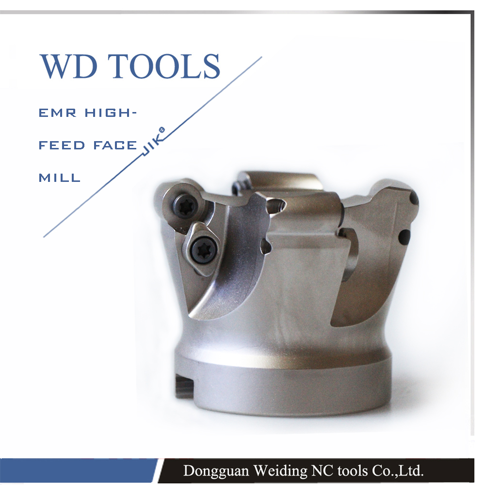 ФОТО round dowel Face mill EMR-6R-63-27-5T carbide face Mill for BT50