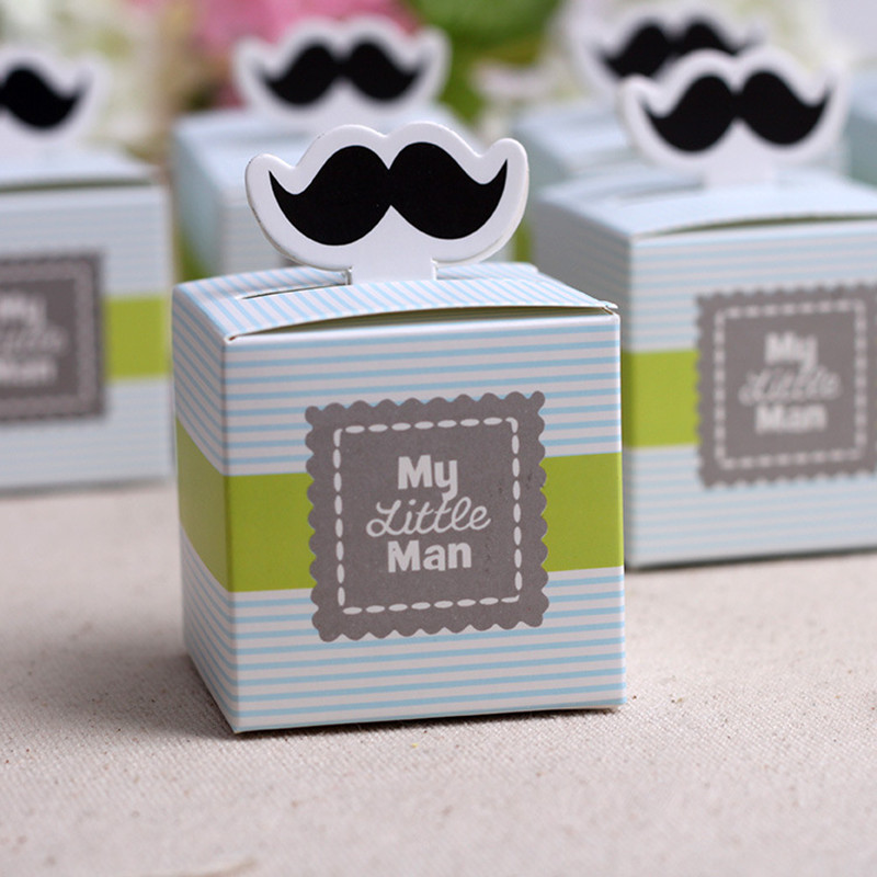 aliexpress  buy pcs cute mustache birthday boy baby shower, Baby shower invitation