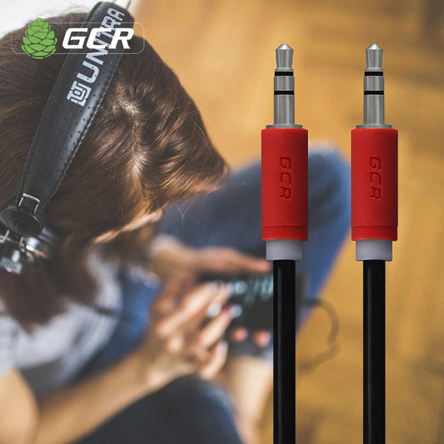 Greenconnect GCR Audio AUX Jack 3.5mm Male to Male Audio Cable AUX Cable 1m 2m 3m 5m 10m for Speaker Headphone DVD Amplifer Cord