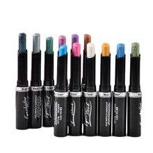 12 Colors Waterproof Smoky Eyeshadow Pen Stick Eye Camouflage Makeup Cream Naked Eye Shadow Palette Liner