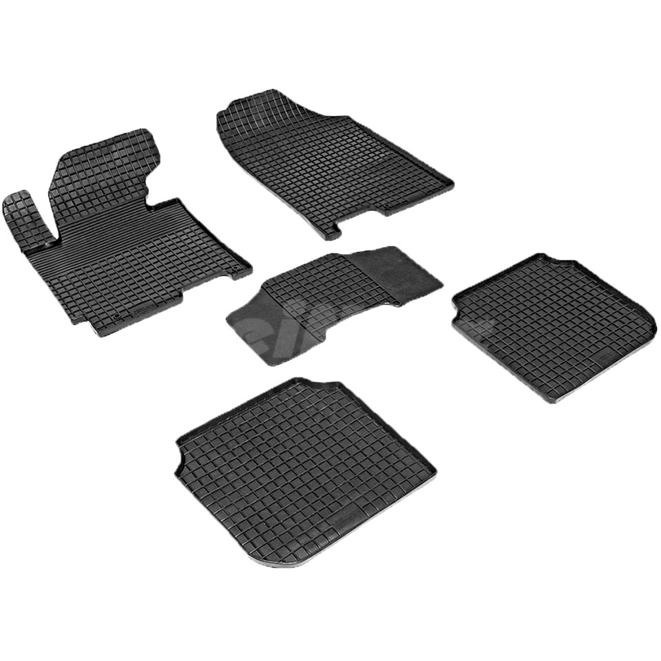 Rubber grid floor mats for Hyundai Elantra MD 2011 2012 2013 2014 2015 Seintex 83113 цена