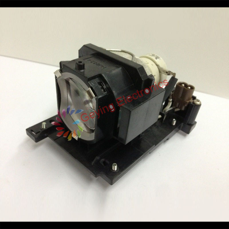 ФОТО DT01022 Compatible Projector Lamp With Module For Hi tachi CP-RX70W / CP-RX78 / CP-RX78W / CP-RX80 / CP-RX80W / ED-X24