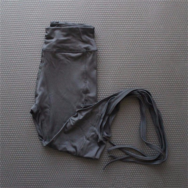 femmes ballerine yoga pantalons sport leggings fitness croix yoga haute taille ballet de danse. Black Bedroom Furniture Sets. Home Design Ideas