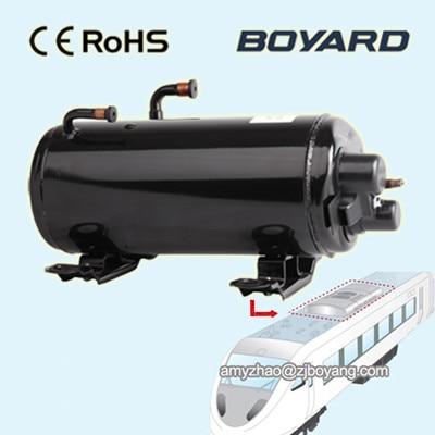 boyard horizontal rv compressor for van roof mounted air conditioner r410a 9000btu horizontal compressors rv rooftop caravan air conditioner