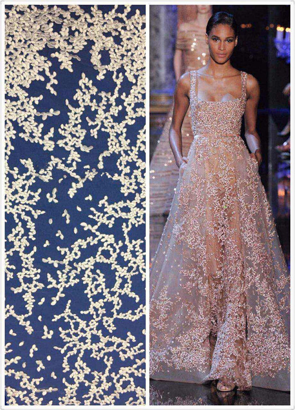Best selling CiCi 51608 new wedding tulle lace embroidery french net lace fabric 5 yards per