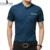 Plus Size 2016 Nova Primavera Dos Homens Camisa de Marca Homem Moda Algodão camisas Plus Size Blusa de Manga Curta Slim Fit Negócio Sólido Z2398