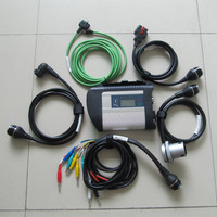 mb diagnostic interface star c4 without hdd wifi support for 12v 24v top quality 2 years warranty 5 cables with mian unit