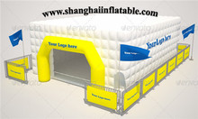 good quality gaint cube inflatable tent camping sun shelter for events at low cost