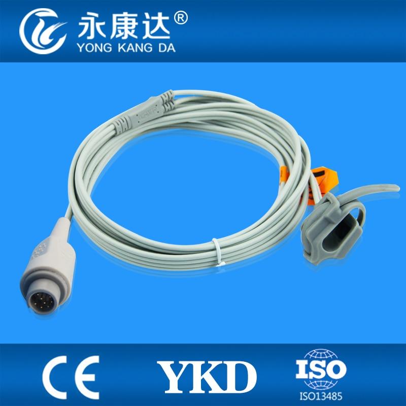 Adult T8 Neonate Silicon Wrap spo2 sensor OXIMAX module 8pin
