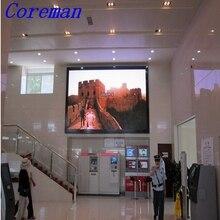 P4 SMD full color LED display Coreman high resolution Indoor 1/16 scan slim cabinet pixel LED Video