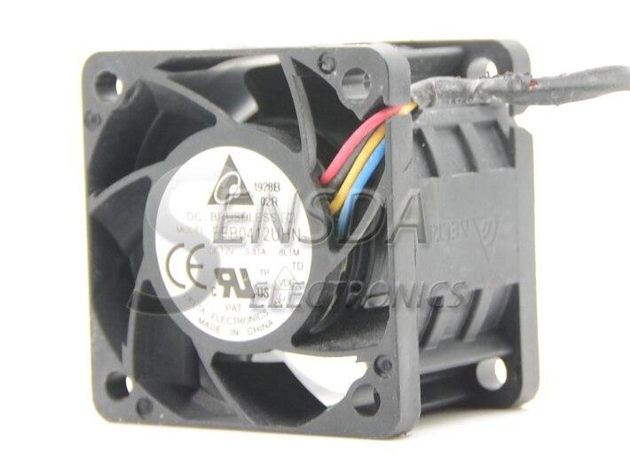 Wholesale Delta FFB0412UHN 4028 4cm 40mm DC 12V 0.81A PWM intelligent speed control Server Inverter Cooling fan