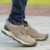 2017 NUEVOS hombres de moda casual al aire libre chaussure homme cuero de Vaca cómoda para hombre balanceds desinger zapatos de calidad superior de lujo