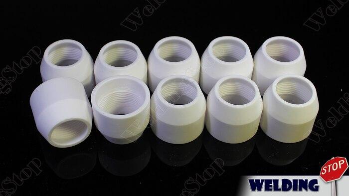 P80 plasma corte tocha escudo copo 10 peças