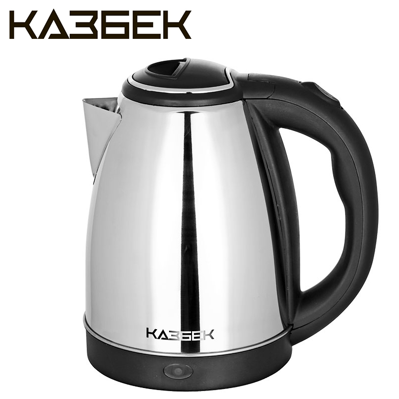 Kazbek-1 Electric Kettle, 1,8L,stainless steel,1500W, Steel teapot Metal, safety auto-Off function