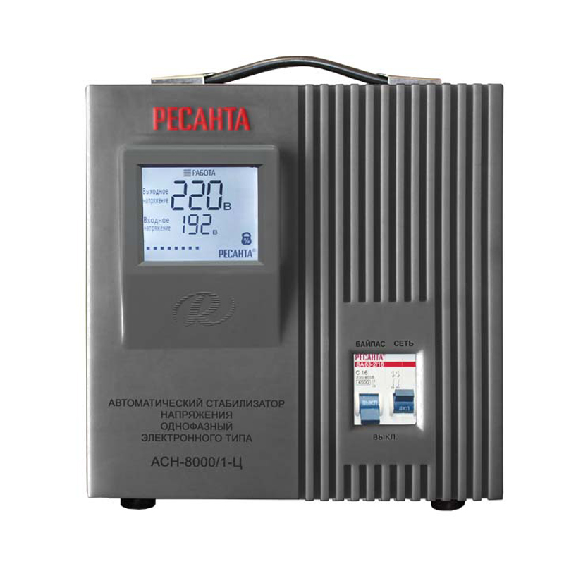 Voltage stabilizer RESANTA ASN-8000/1-C