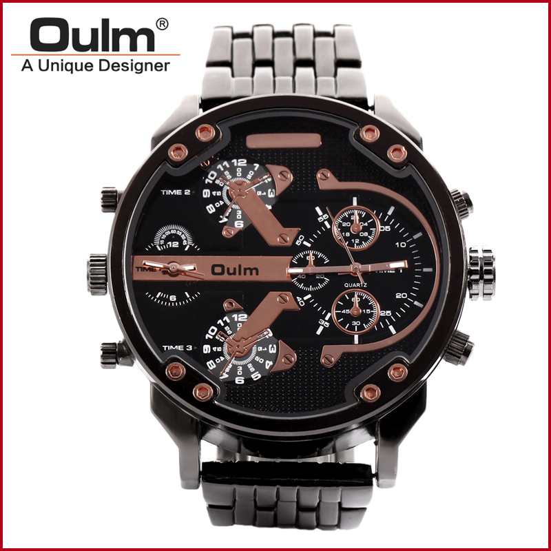 reloj de pulsera fabricante de porcelana, oulm reloj de cuarzo - Relojes para hombres - foto 1