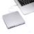 Cd/dvd externo rw burner gravador de dvd rom player computador portátil usb 3.0 drive óptico superdrive para apple imacbook + saco de disco