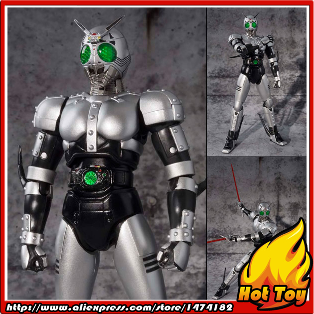 100% Original BANDAI Tamashii Nations S.H.Figuarts (SHF) Action Figure - Shadow Moon V2.0 from Masked Rider Black