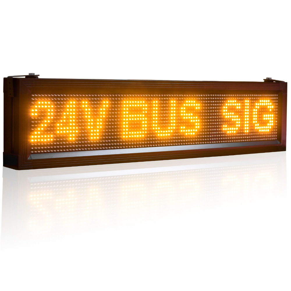 12V Or 24V P10 Semi Outdoor Cars Buses Trucks Bluetooth Programmable Led Sign Board Display Advertising