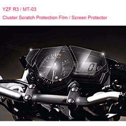 Brand New For Yamaha R3 YZF R3 MT-03 MT03 Cluster Scratch Protection Film Screen Protector for Yamaha YZF-R3 MT 03