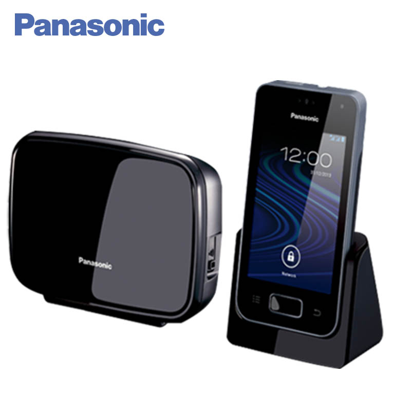 Panasonic KX-PRX150RUB DECT phone, digital cordless telephone, wireless phone System Home Telephone. free shipping brand new 7 inch color home video intercom door phone system 3 white monitors 1 doorbell camera in stock wholesale