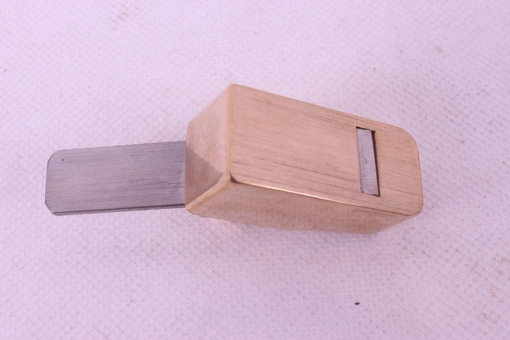 Самолеты плотничьи инструменты для работы с деревом Самолет деревянный проект 1 шт. латунь Сталь лезвие# Q21