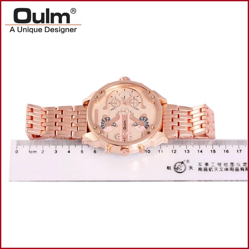 reloj de pulsera fabricante de porcelana, oulm reloj de cuarzo - Relojes para hombres - foto 3