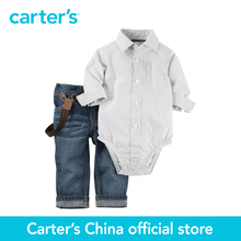 Картера 2 шт. детские дети дети Боди & Жан Набор 127G187, продавец картера Китай официальный магазин(China (Mainland))