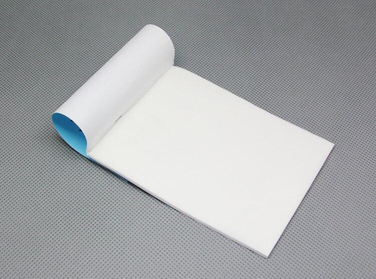 5 stÜcke 7*10 cm objektiv wischpapier reinigung papier buch für