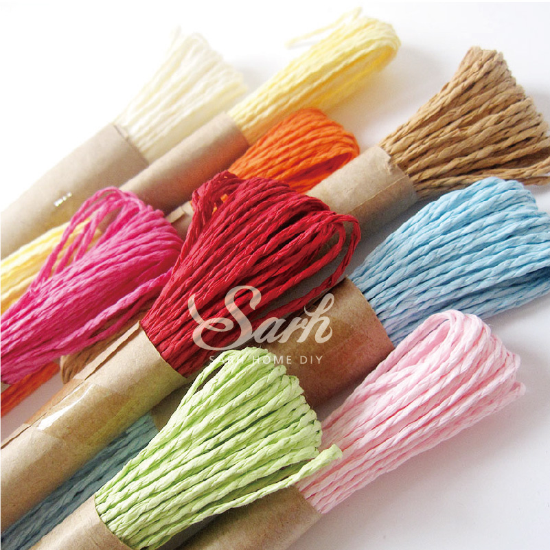 10m One Piece 9 Colors To Choose Diy Twisted Paper Raffia Craft