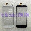 Negro blanco pantalla táctil para blu studio g d790u d790l 5.0 ''pop panel táctil digitalizador del sensor de reemplazo de lentes de vidrio